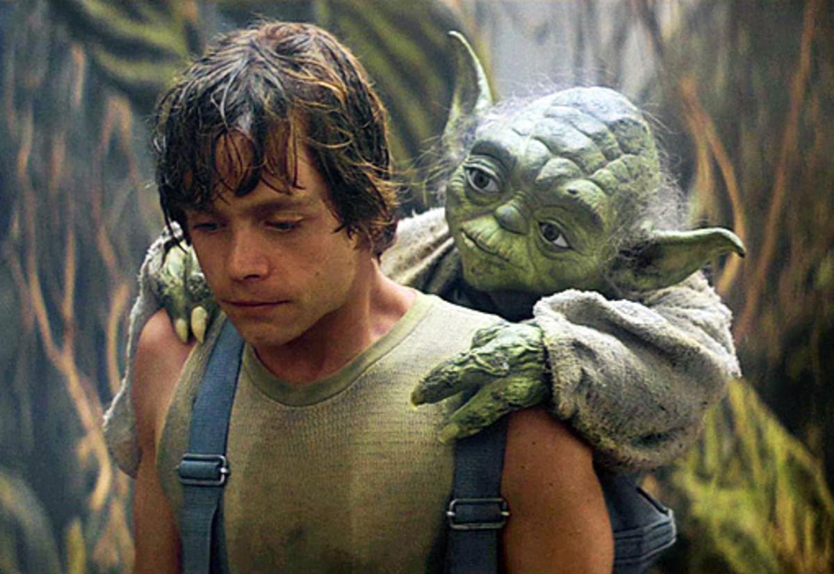 Jedi training on Dagobah