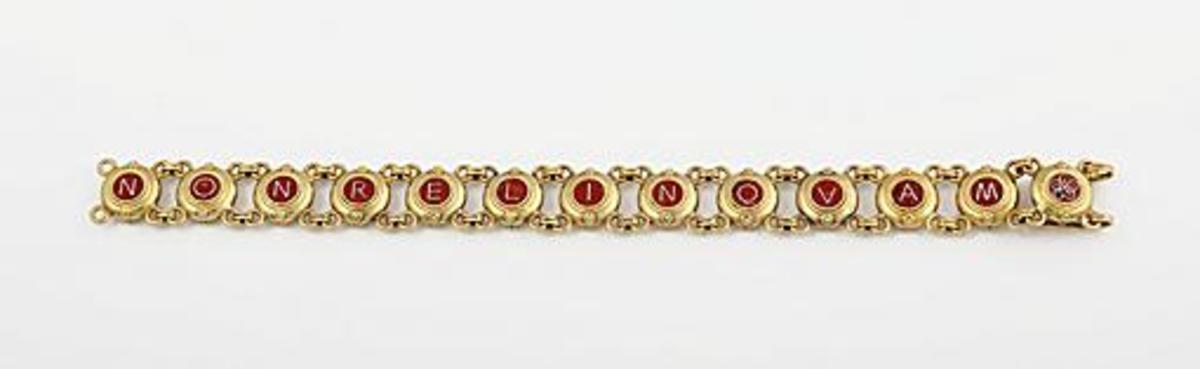 gold bracelet by Castellani