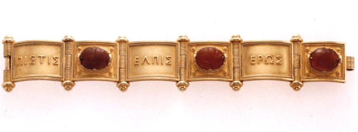 Scarab Bracelet designed by Castellani