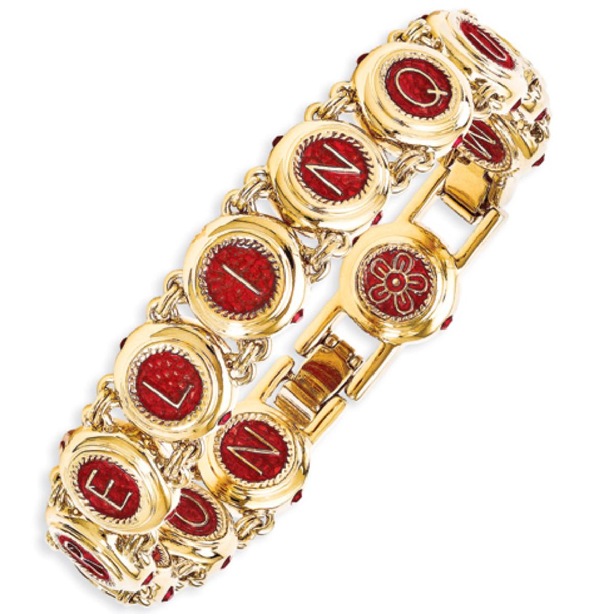 Jacqueline Kennedy Castellani Wedding/Love Bracelet