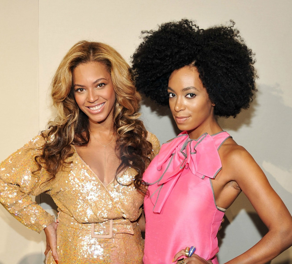 Solange, baby sister of Beyonce, attacker of Jay-Z