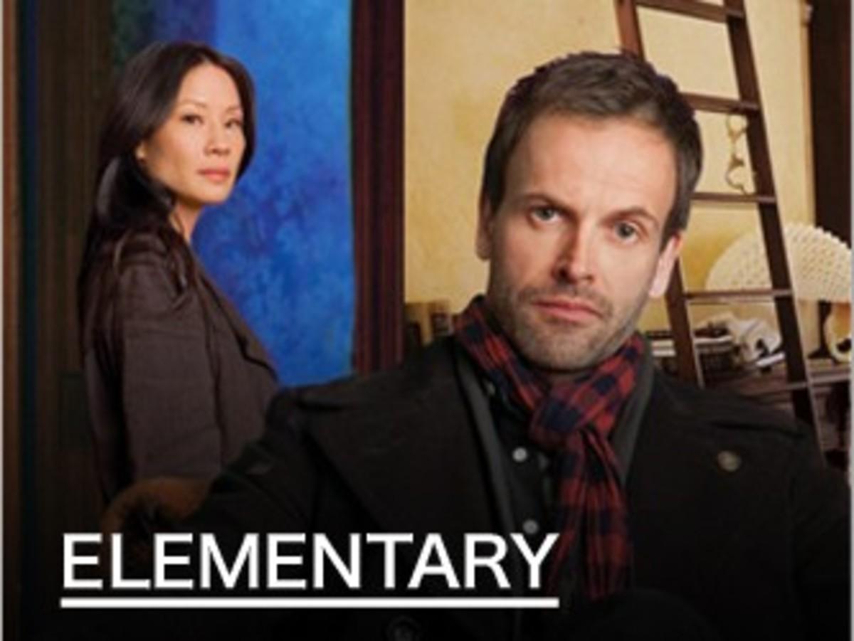 Elementary- Sherlock and Watson Poster.