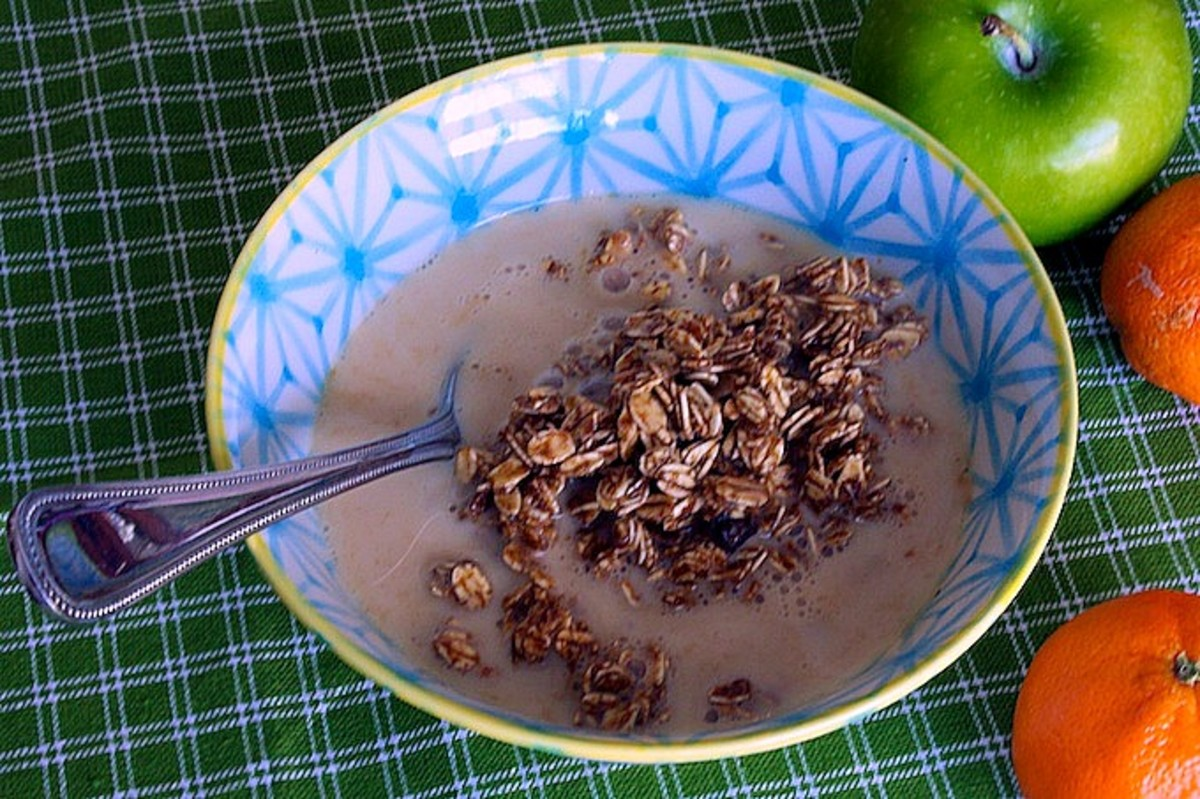 6. Molasses-Cinnamon Stovetop Granola