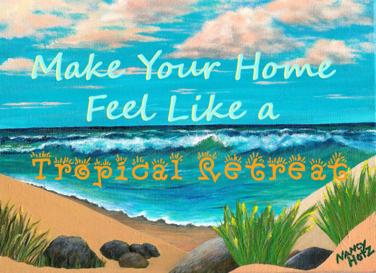 Make your home feel like a tropical retreat
