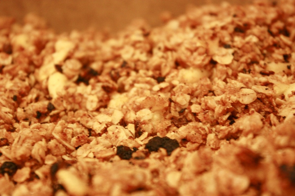 "Azure Almanac writes, ""This is a quick granola recipe you can make that will satisfy all those hungry tummies in your home!"""