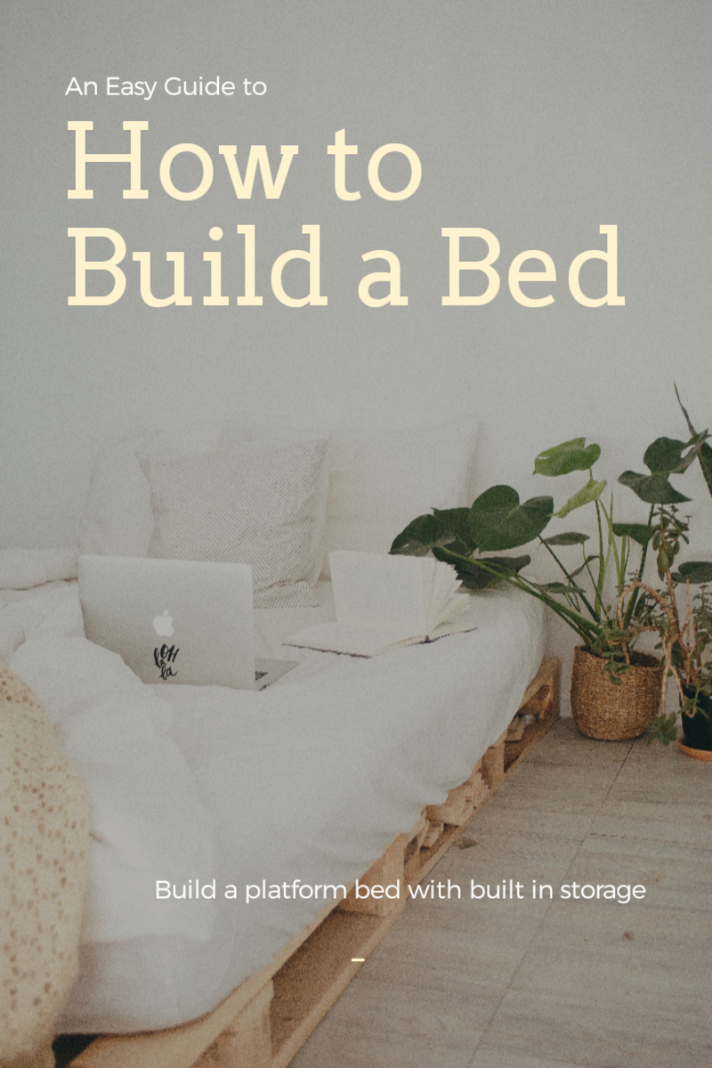 Build Your Own Platform Bed with Storage! (Oh Yeah)