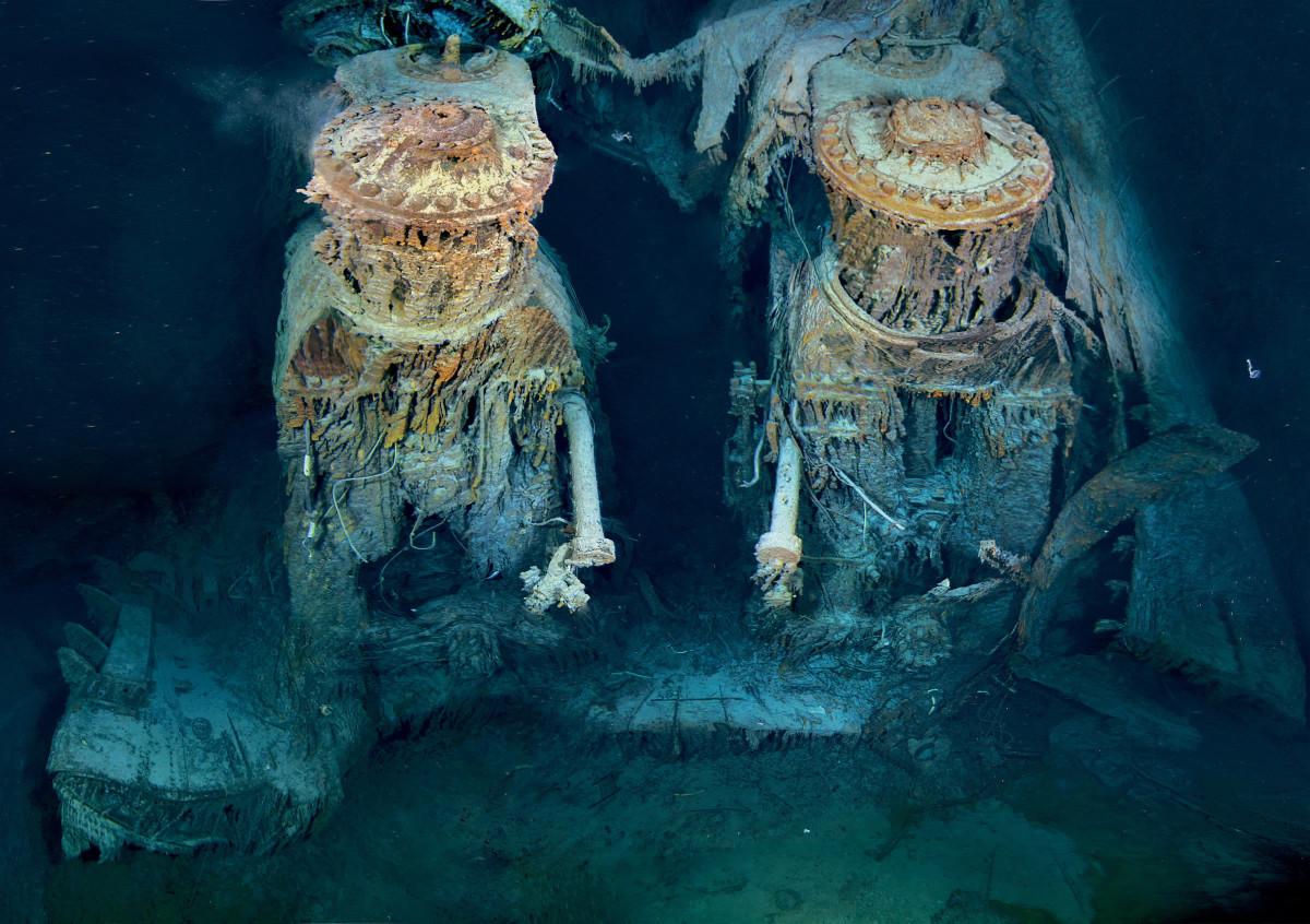 Titanic engine room