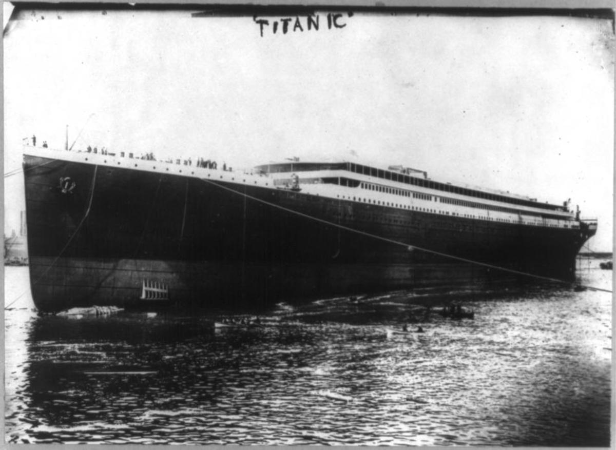 Titanic hull ready to fit out