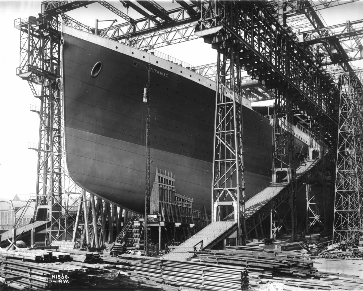 Titanic hull nearing completion