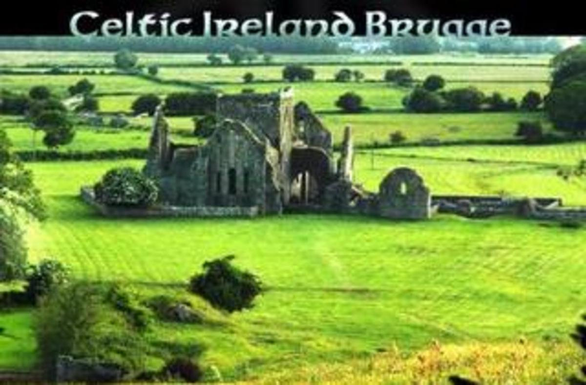 Celtic Ireland Brugge - the remains of Celtic Ireland