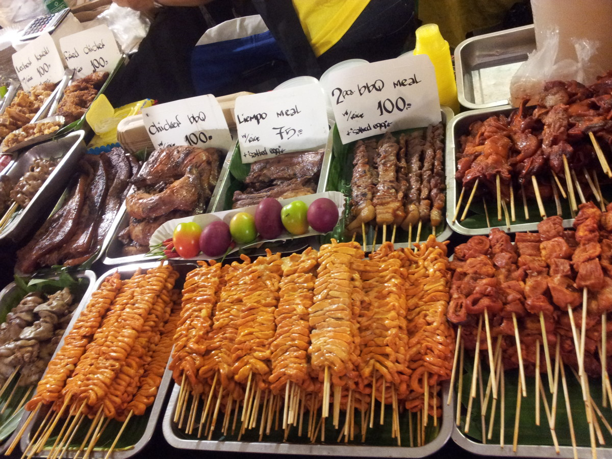 Street Foods to Eat when in the Philippines