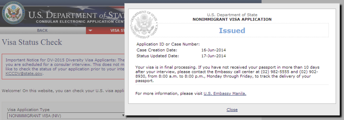 I went through a visa interview very recently and guess what? It was approved. :D