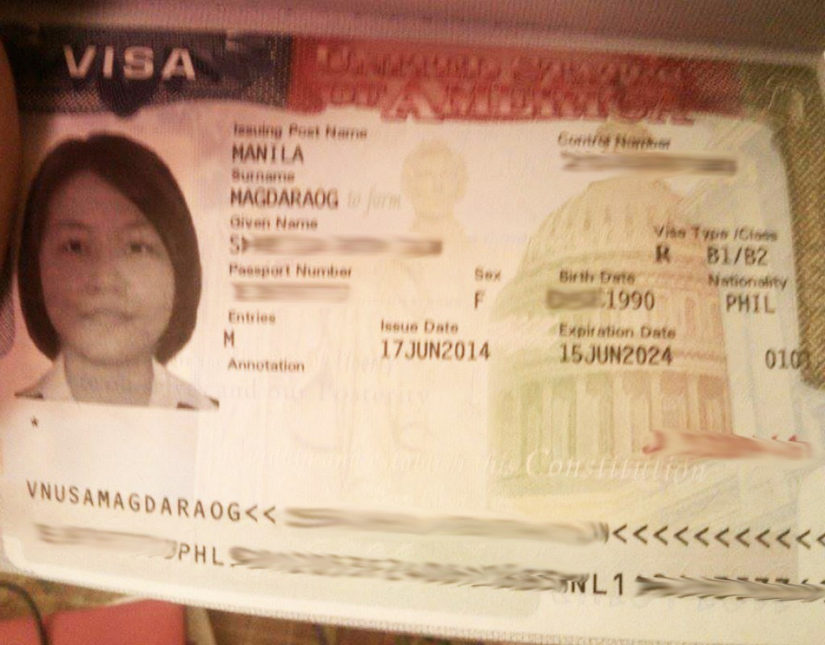 My passport (with visa) arrived today! :)