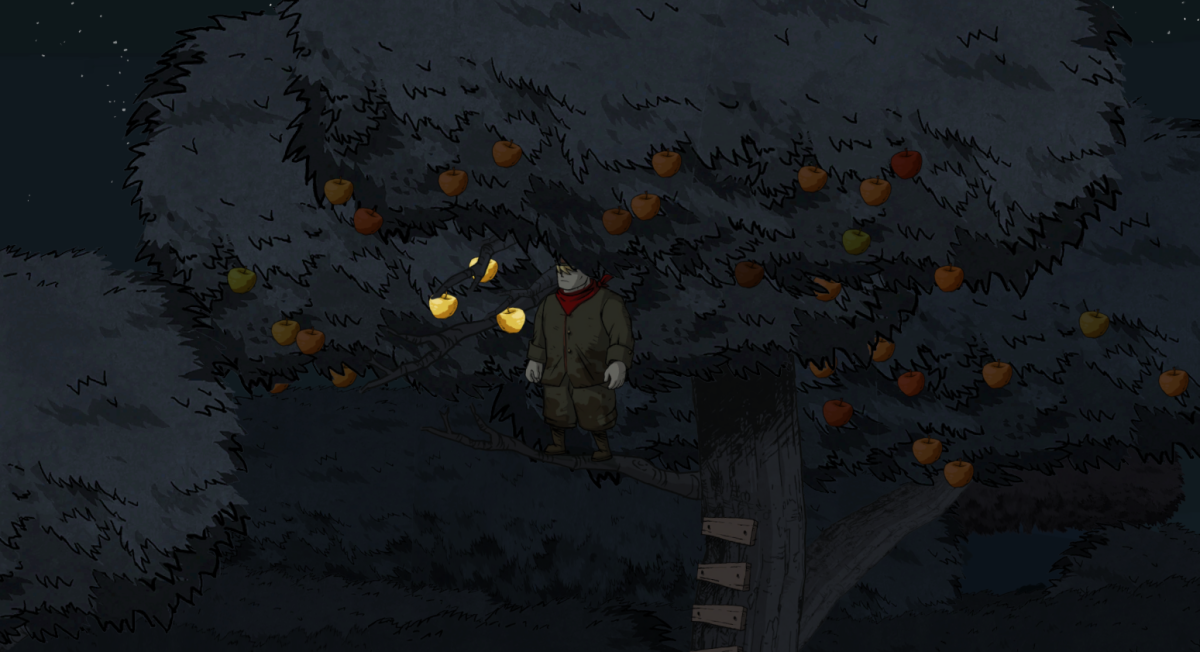 Karl climbs into a tree in Valiant Hearts.