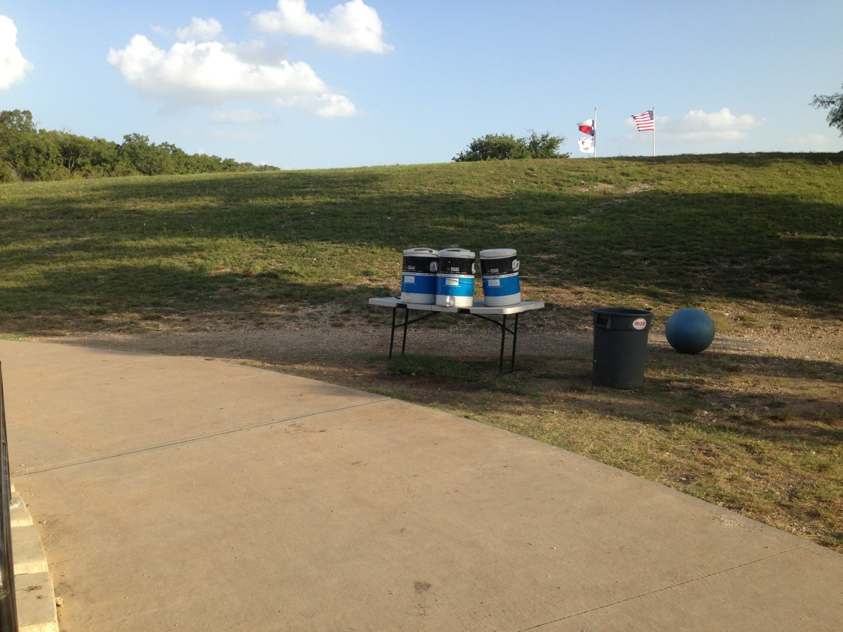 Water Stations along the Trail