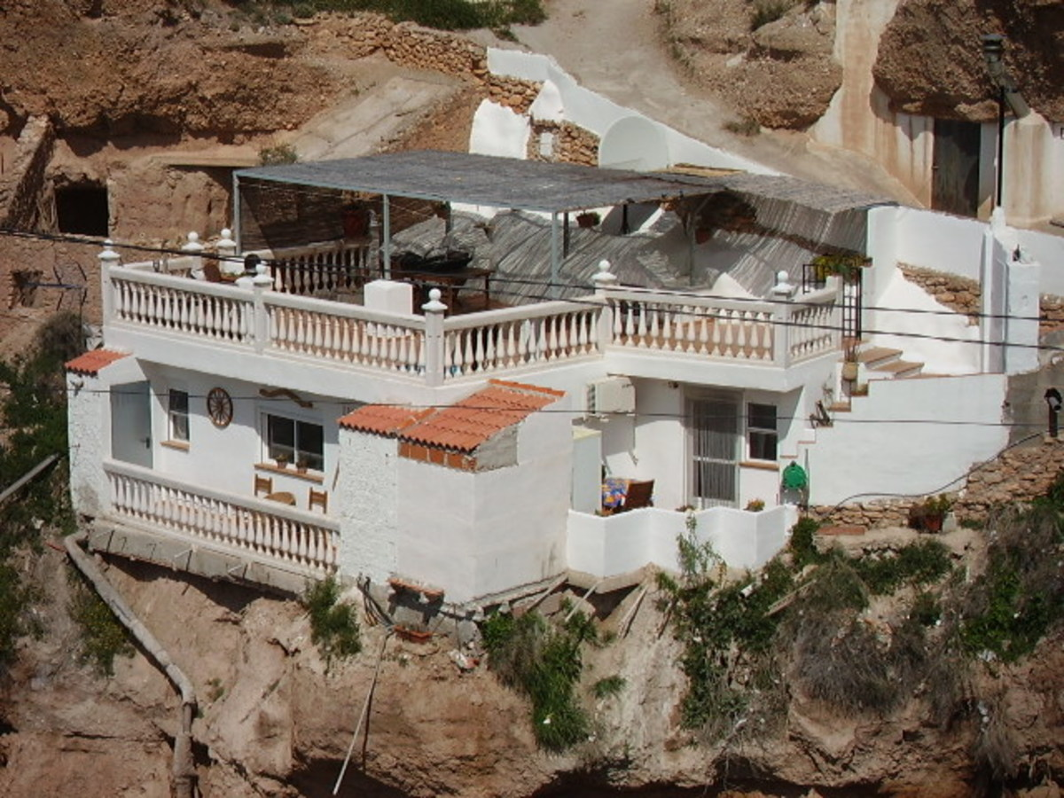 Cave house in the the village of Freila.