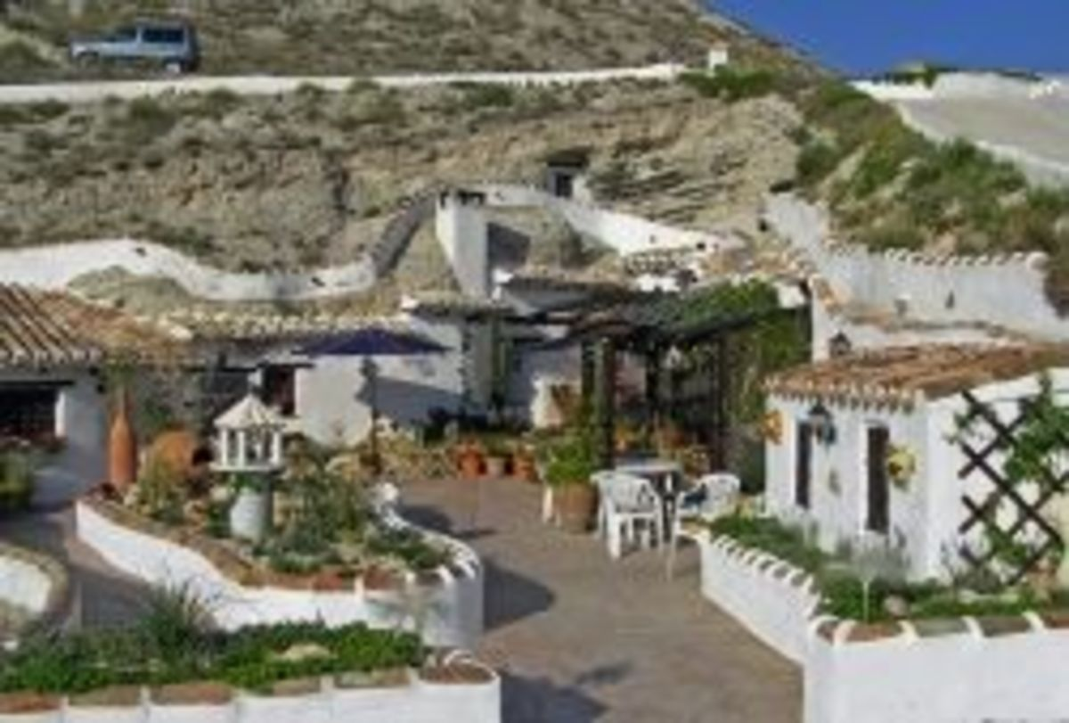 Living in a Cave House in Andalucia, Spain