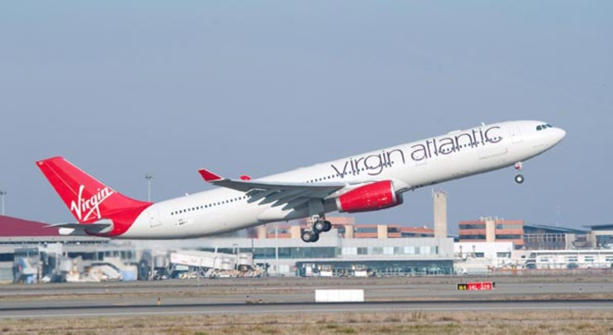 A Virgin Atlantic Airbus A330 Series Jet (example pictured here) operating westbound as flight VS301 between Delhi (DEL) and London-Heathrow (LHR) was 140 Miles away from MH17 when the missile struck the Malaysian Boeing 777.