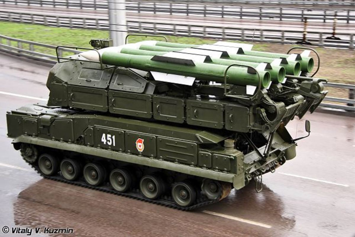 The SA-17 BUK Surface to Air Missile (SAM), similar to the one apparently used to shoot down Malaysia Airlines flight MH17/MAS17