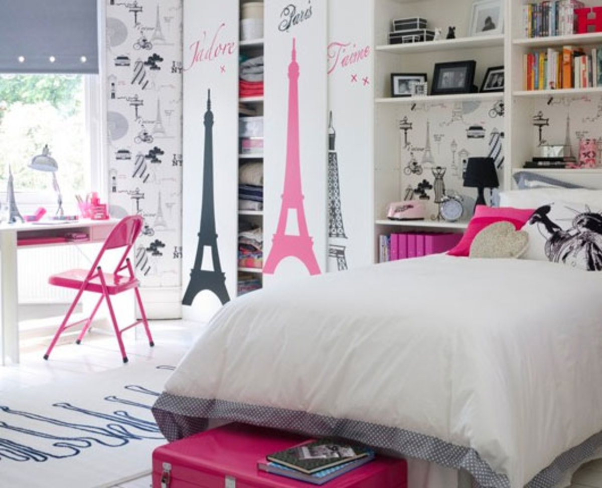 20 Teenage Girl Bedroom Decorating Ideas | Hubpages