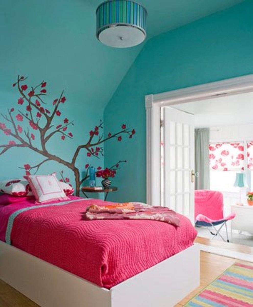 Bohemian Living Room Decor Pastels