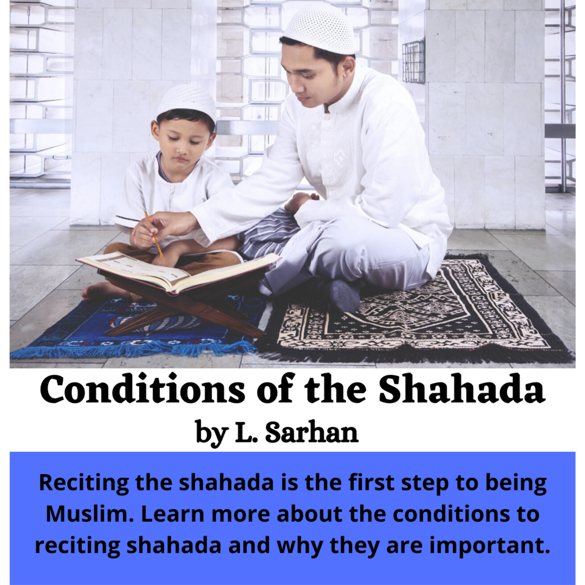 This article explains the conditions of the shahada. Because the Qu'ran states that there is no compulsory in religion, it is important to understand fully what the shahada really implies.