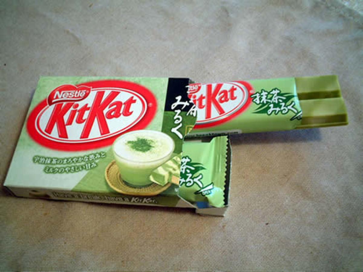Japan's Green Tea Variety of KitKat