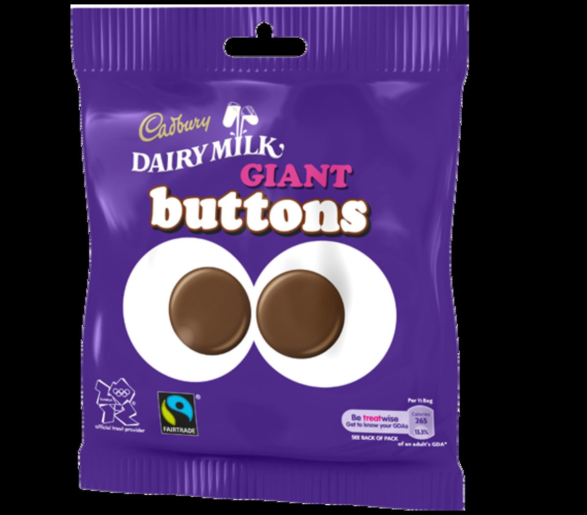 Cadbury Chocolate Buttons