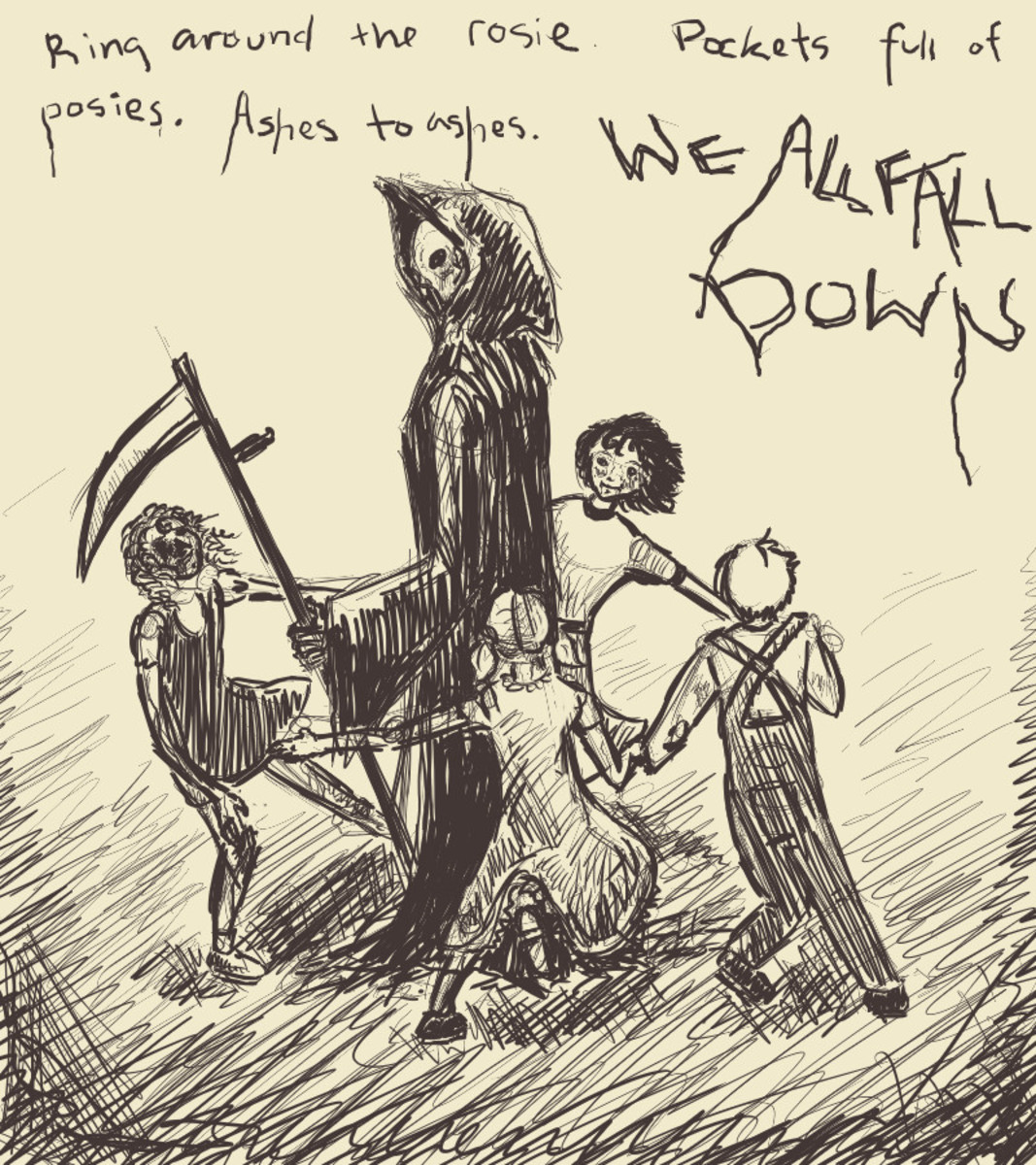 This children's rhyme was no game and is associated closely with the Black Death!