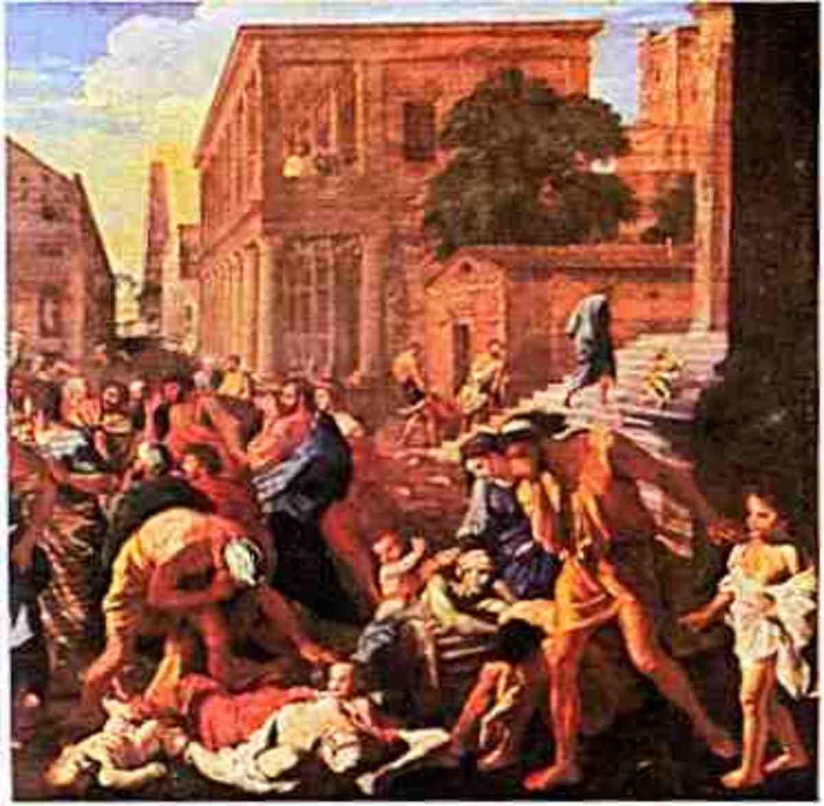 A common scene in a large metropolitan area at the height of the Black Death!
