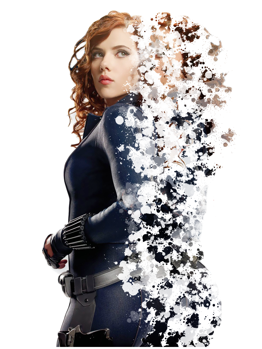 GIMP: Creating a Dispersion Effect