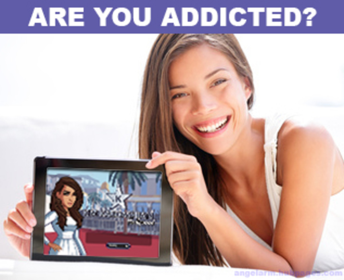You Know You're Addicted To the Kim Kardashian: Hollywood Game If...