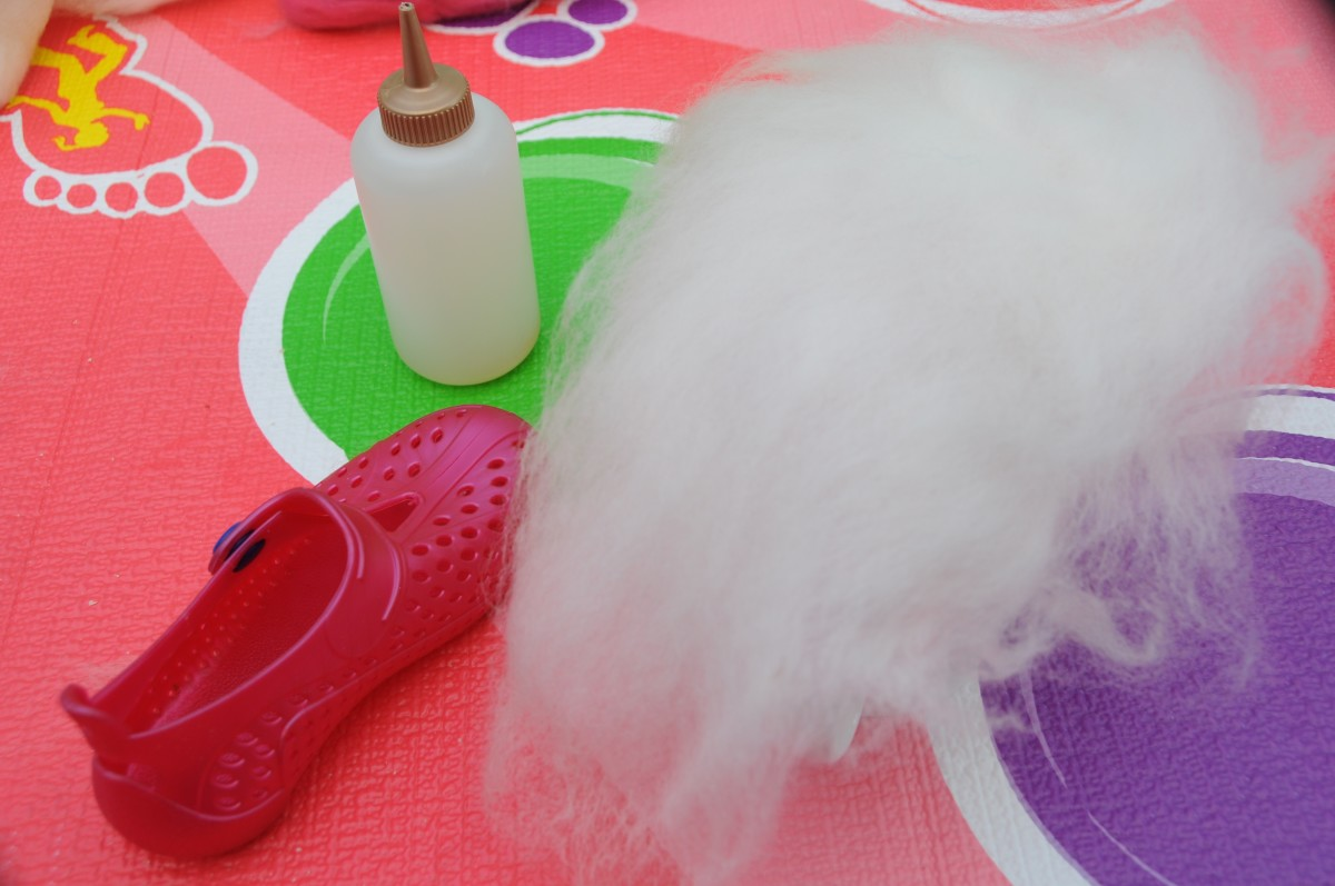Re-cycled merino wool