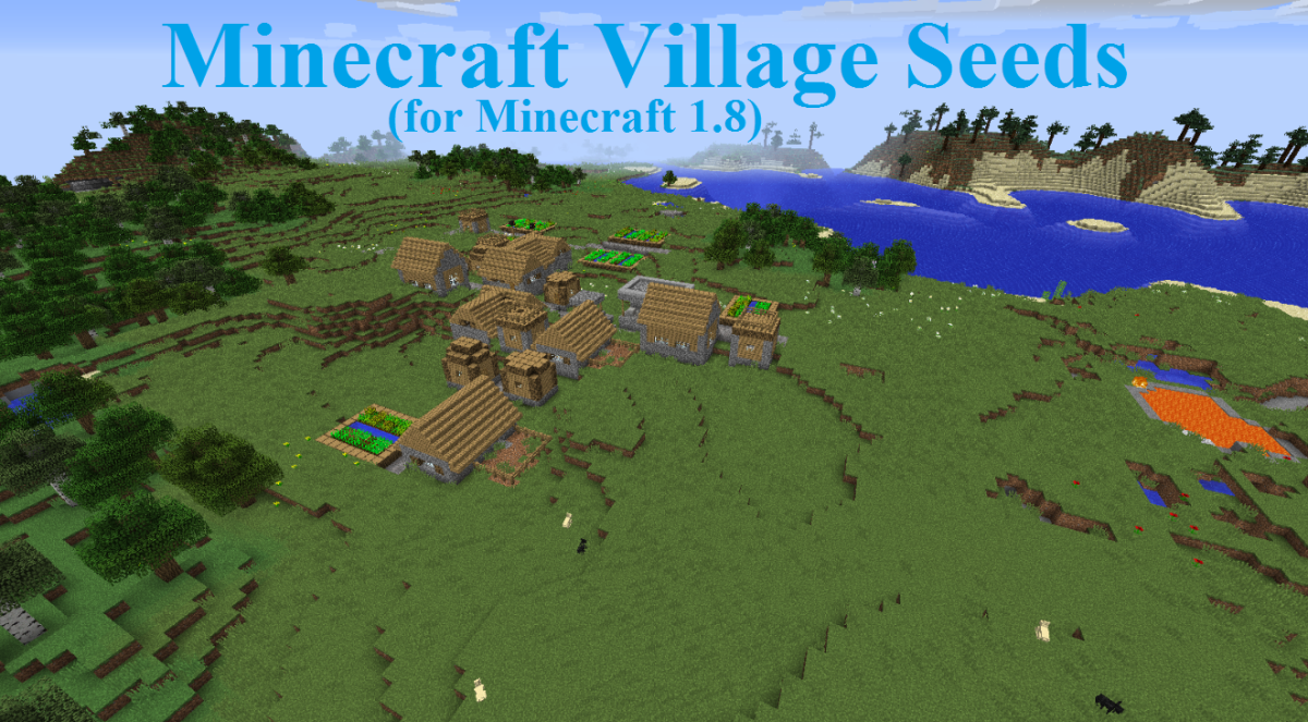 Ten Village Seeds for Minecraft 1.8 to 1.8.3 (With Videos)