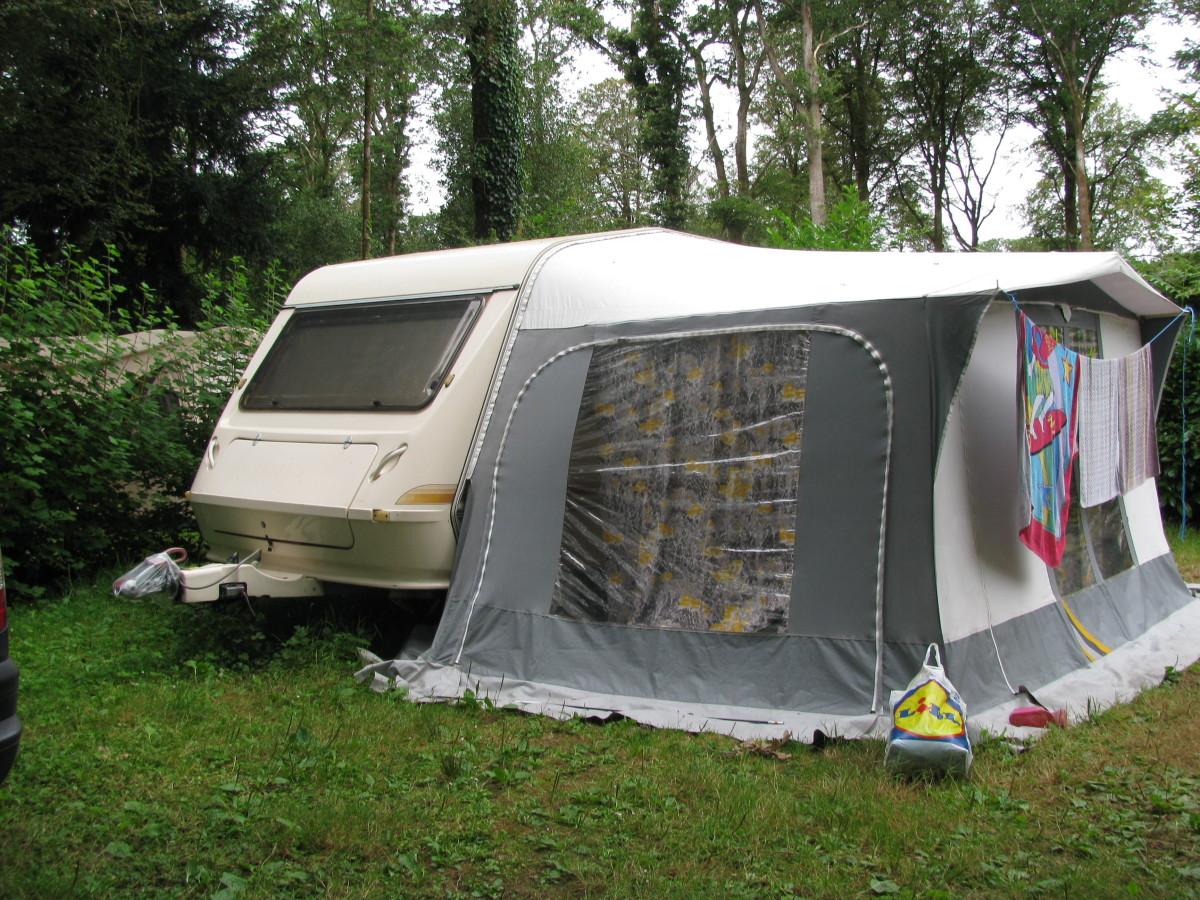 Caravan or tent or both?!