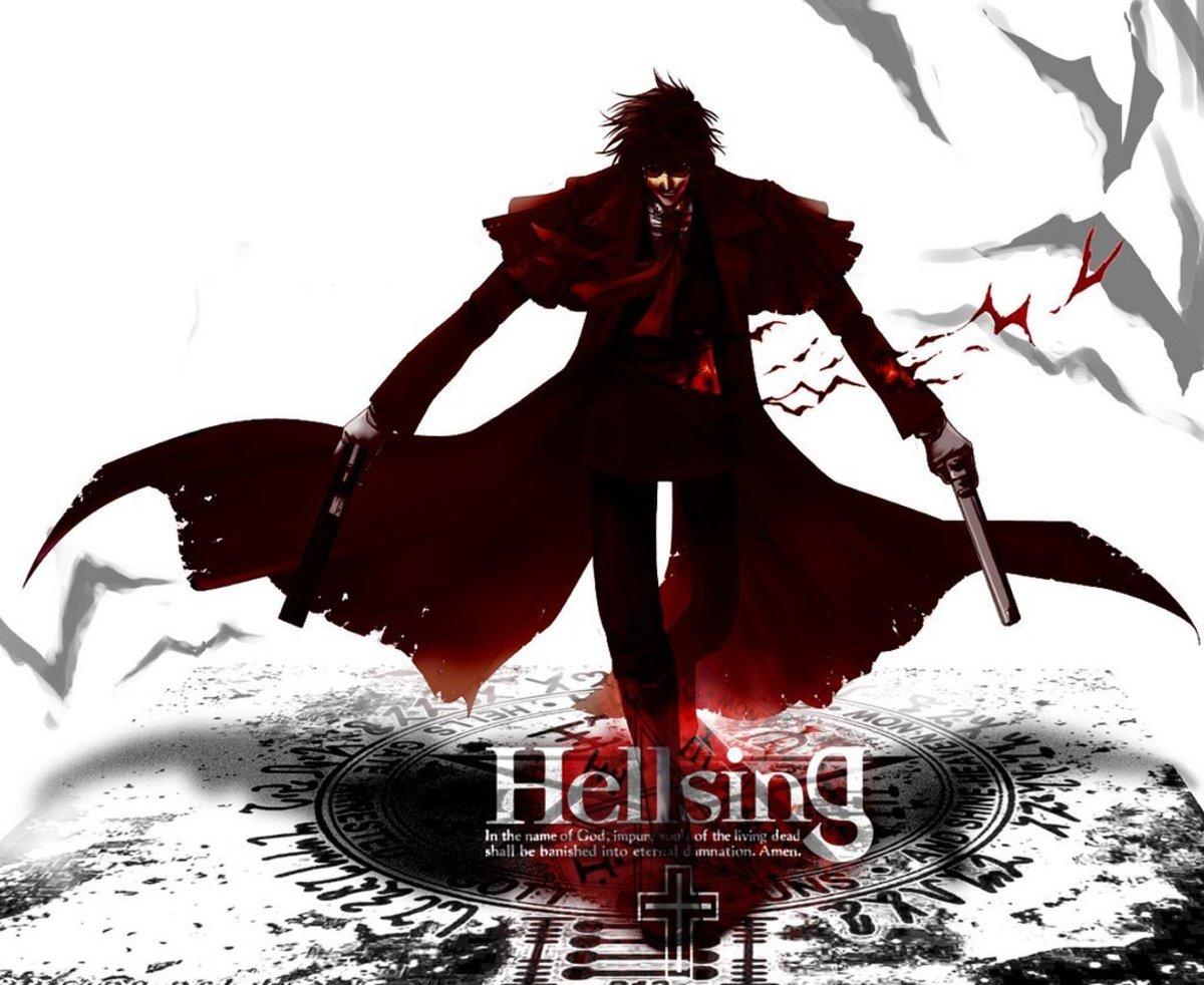 Hellsing, A True Vampire