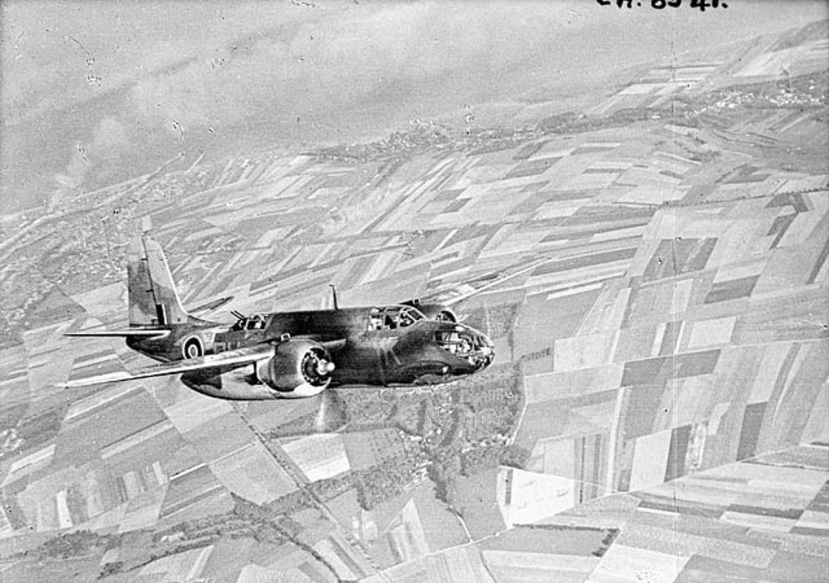 An A-20 Boston.  Oberleutnant Heinz Wurm and ground gunners combined to shoot down an RAF Boston on January 29, 1943.