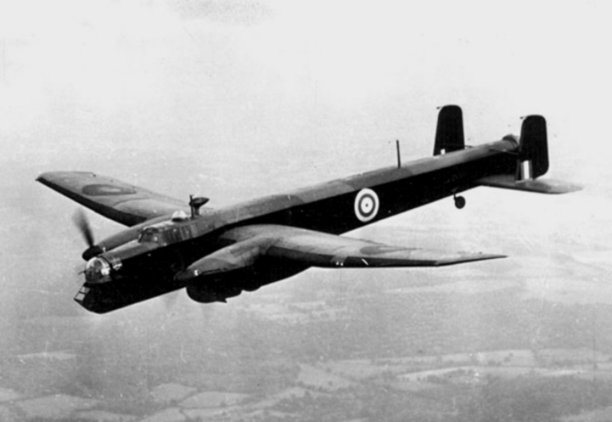 An Armstrong Whitworth Whitley.  Ar-196s made 3 Whitley shoot down claims.