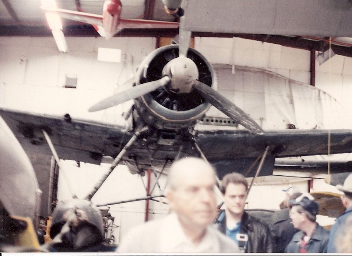 The Smithsonian's Arado Ar-196