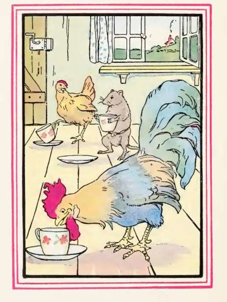 Little Red Hen by Tony Sarg