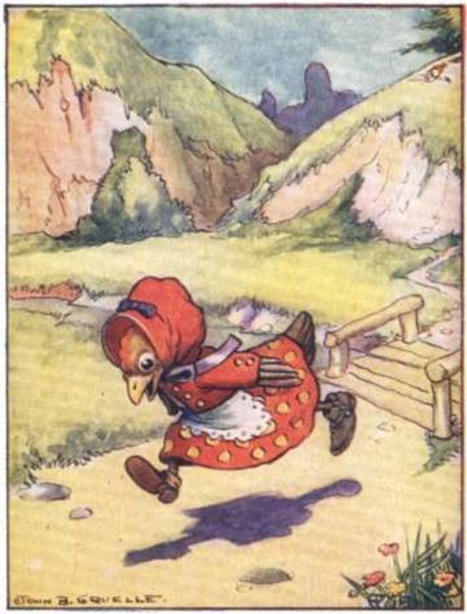 The Little Red Hen - a story with unclear moral?