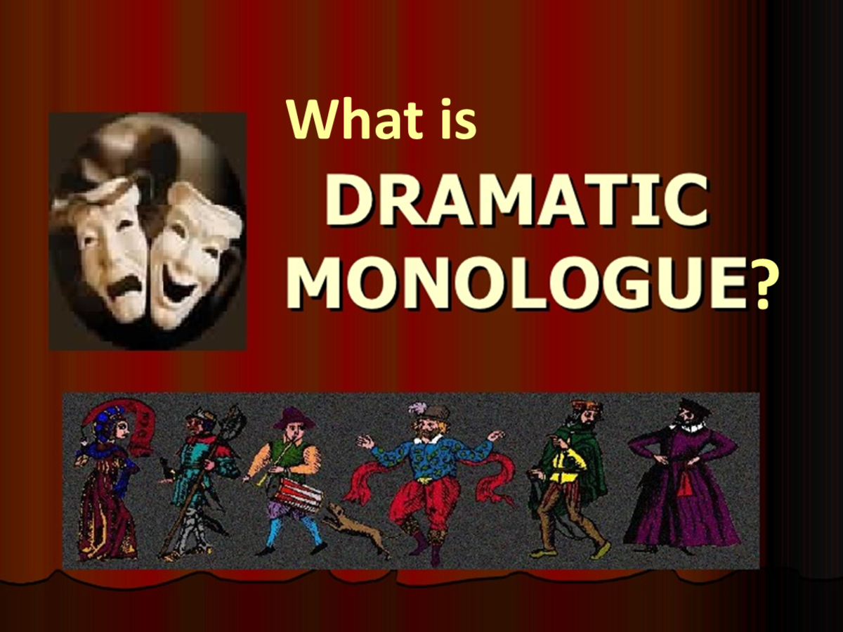 drama monolouge An archive of dramatic monologues for actresses agamemnon by aeschylus agamemnon by aeschylus ajax by sophocles ajax by sophocles.