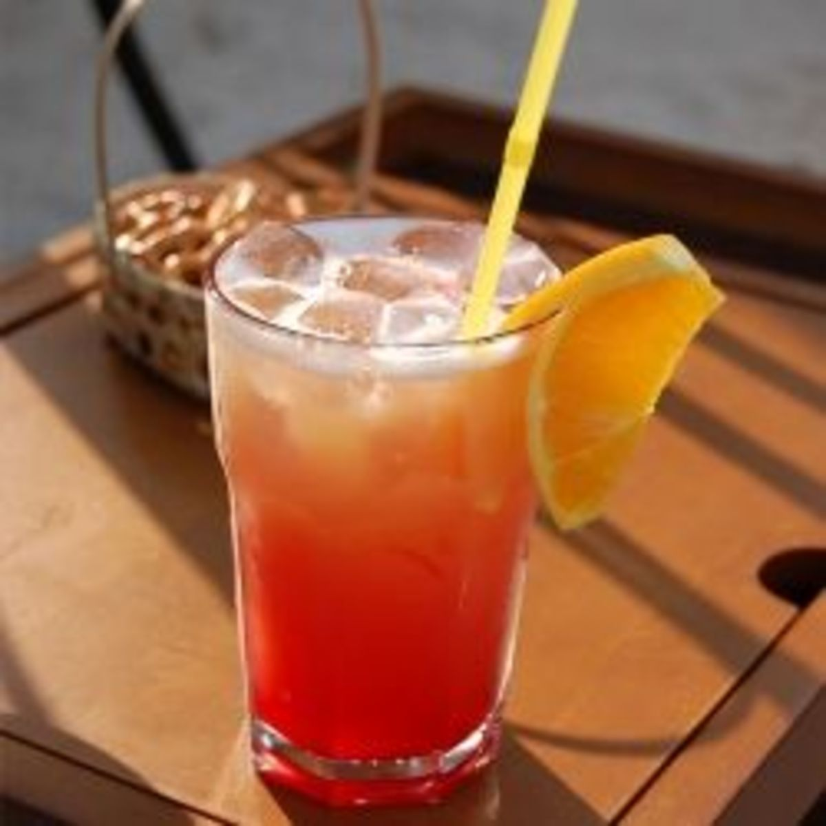 Okolehao Luna Fruit Punch Cocktail