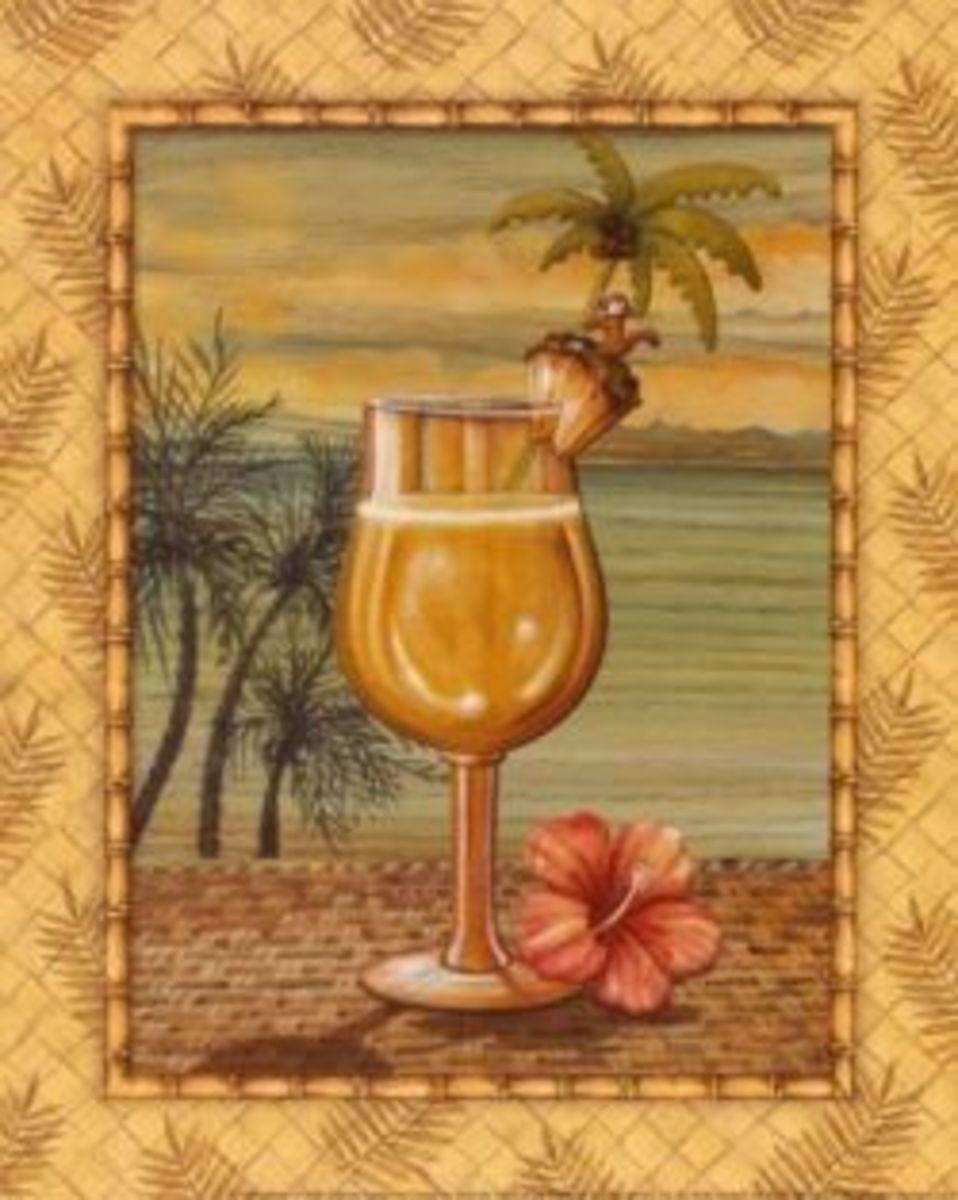 Painting by Audrey Charlene Island Nectar IV