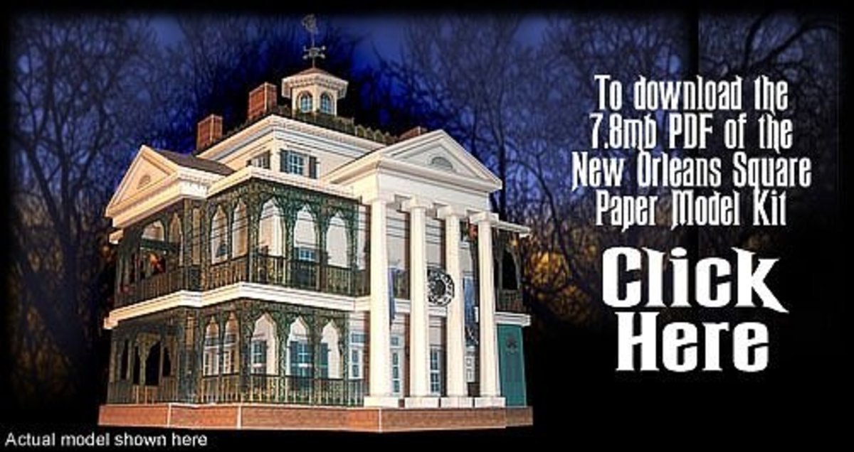'New Orleans Square' @ Haunted Dimensions