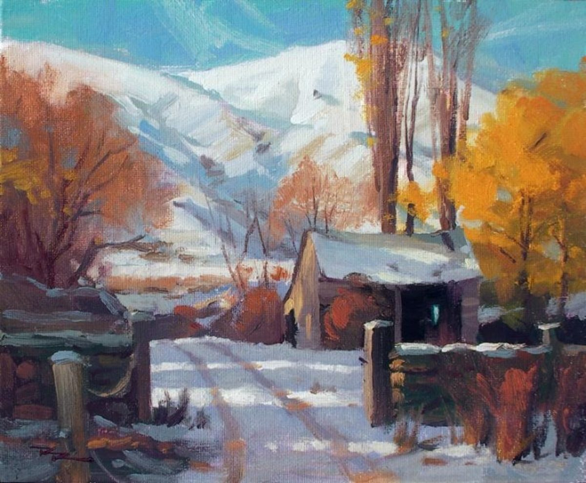 Like to learn to paint like this?