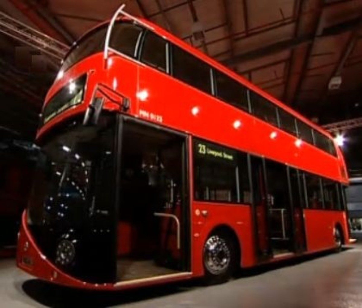 New Routemaster Bus Unveiled by Boris Johnson