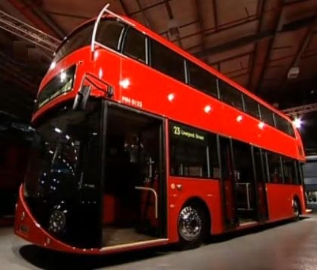New Routemaster Bus Unveiled by Boris Johnson