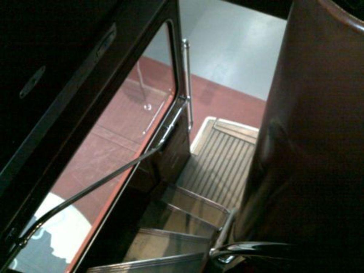 Routemaster Stairwell