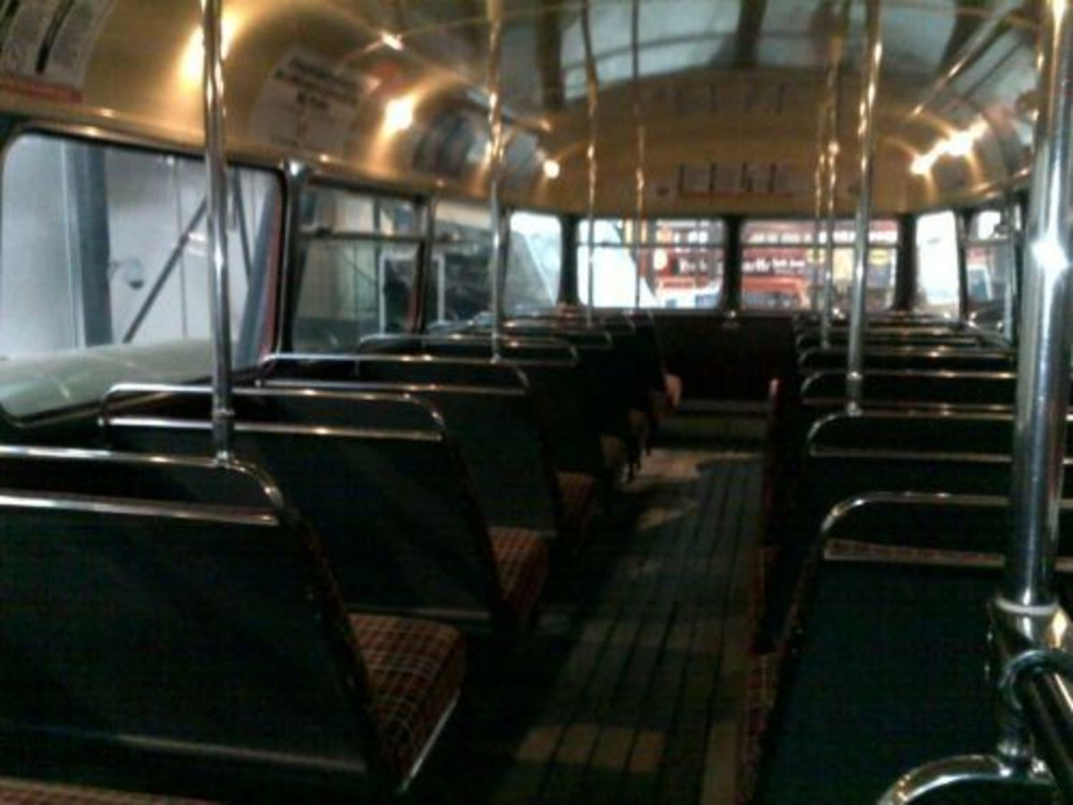 Routemaster Interior